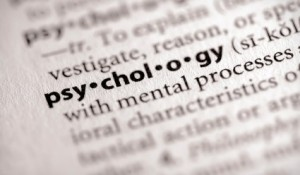 """Selective focus on the word """"psychology"""". Many more word photos for you in my portfolio..."""